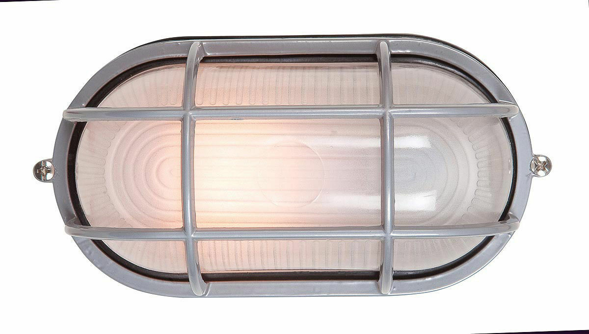 Access Lighting C20290SATFSTEN1113BS Nauticus 1 Light 4 inch Satin Bulkhead