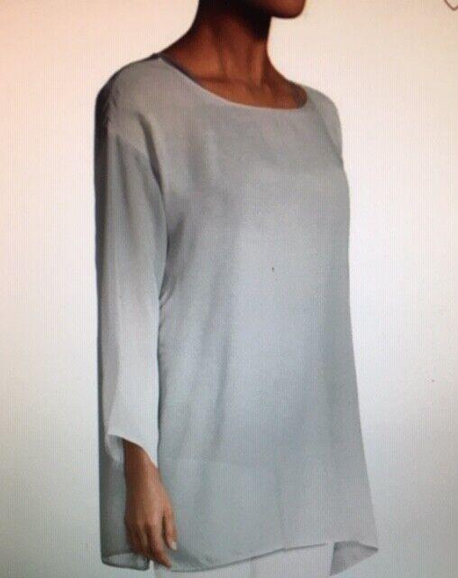 Eileen Fisher WaterFarbe Silk Tunic,Größe PM,orig. price