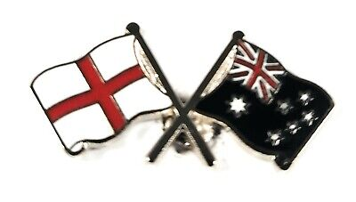 England And Australia Flag Friendship Lapel Pin Badge Gift Idea Free Uk P P Ebay