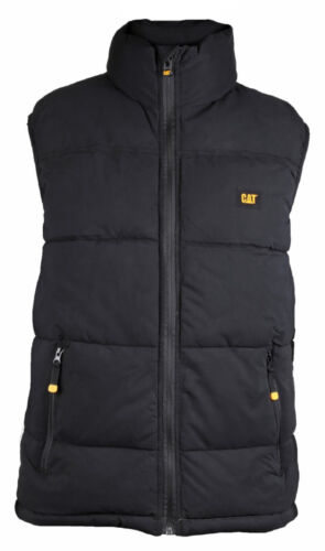 Mens CAT Caterpillar Arctic Zone Vest Bodywarmer Water Resistant Insulated Gilet