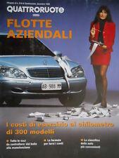 Quattroruote  Alleg. num. 518 1998 Flotte aziendali [Q.65]