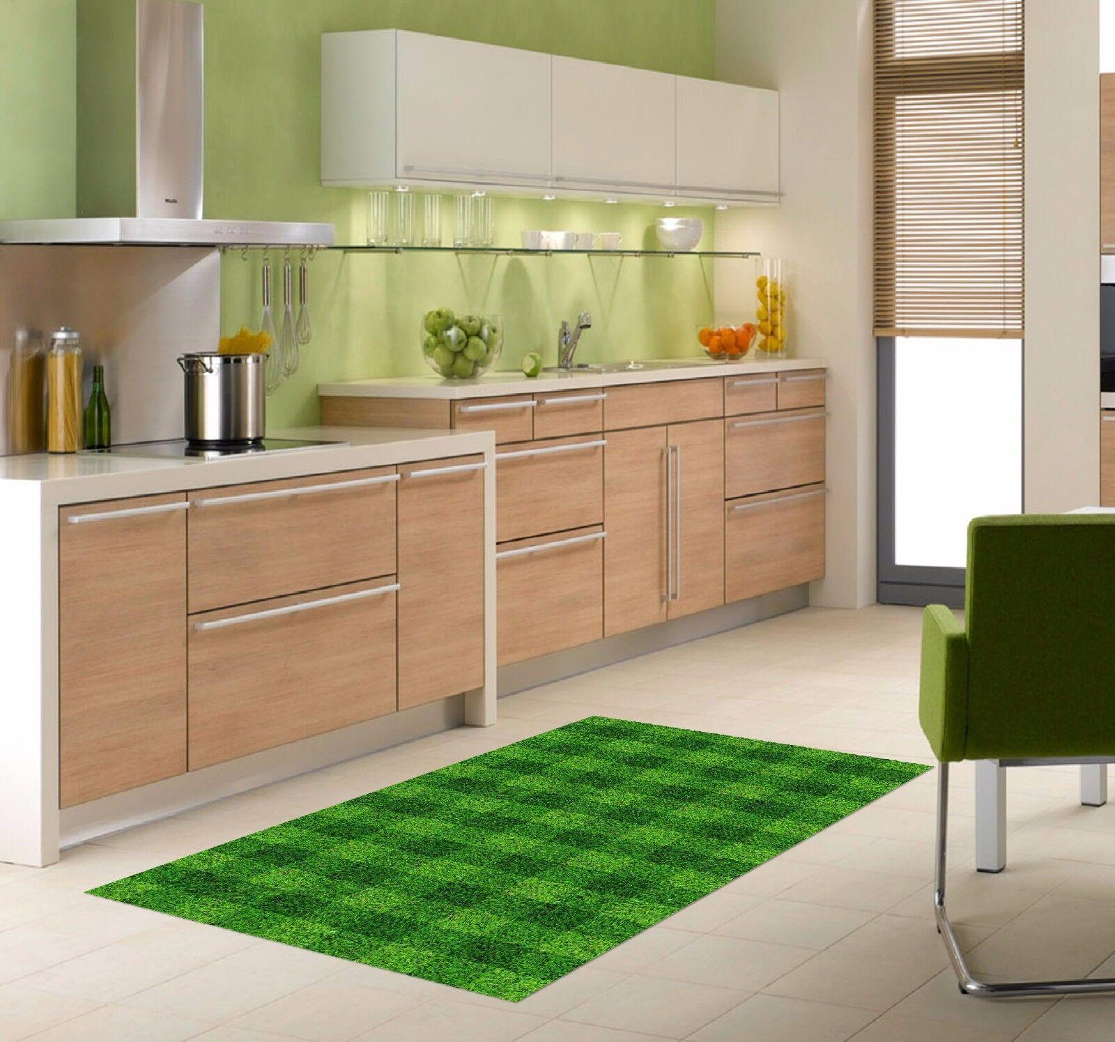 3D Grass Lattice Kitchen Mat Floor Murals Wall Print Wall Deco AJ WALLPAPER AU