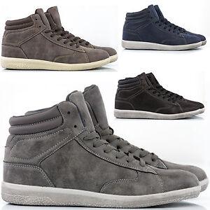 Scarpe-Uomo-Sneakers-Pelle-PU-Stivali-Francesine-Mocassini-Ginnastica-Anfibi-S8-amp