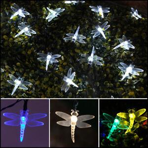 5-10m-Solar-Power-Outdoor-Dragonfly-LED-Fairy-Lights-Garden-Christmas-Decor