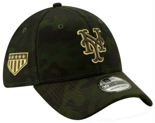 New Era 2019 MLB New York Mets Hat Cap Armed Forces Day 39Thirty 3930 12039518