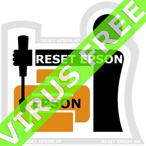 Reset Epson XP211 XP214 XP411 - Unlimited Use 1 PC - Virus Free or Trojan