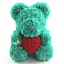 15-034-Teddy-Rose-Bear-Heart-Foam-Flower-Bear-Toys-Wedding-Birthday-Lovers-Gift-Hot thumbnail 12