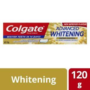 Colgate Whitening & Tartar Control Toothpaste 120g