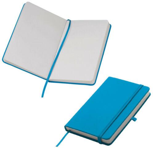 Notizbuch samtweiches PU Hardcover Farbe 160 S // blanko DIN A6 türkis