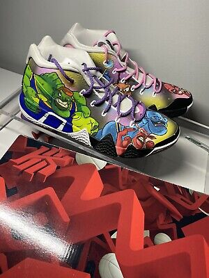 custom painted kyrie 4 basketball shoes