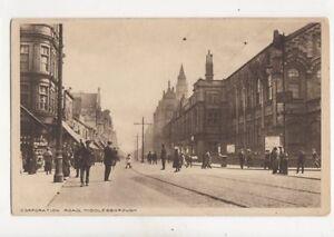 Corporation-Road-Middlesbrough-Vintage-Postcard-179b