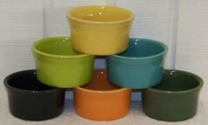 Fiesta-RAMEKIN-Choice-of-Colors-Discontinued-and-Current-Colors