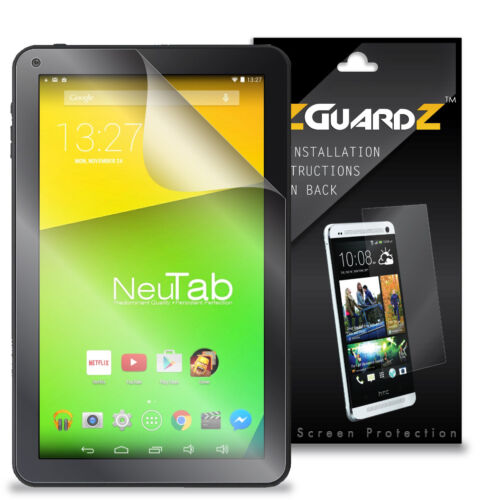 "2X EZguardz Screen Protector Cover HD 2X For iRulu eXpro X1C X1S 10.1/"" Tablet"