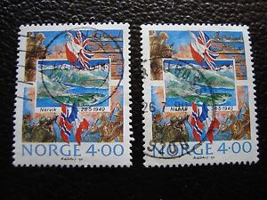 norway-stamp-yvert-and-tellier-n-1000-x2-obl-A04-stamp-norway-A