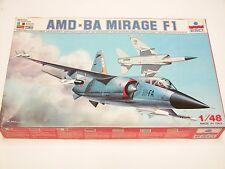 1/48 ESCI ERTL Dassault AMD-BA MIRAGE F1 Scale Plastic Model Kit Complete E