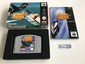 Aerofighters-Assault-Nintendo-64-N64-PAL-EUR-1-Avec-Notice