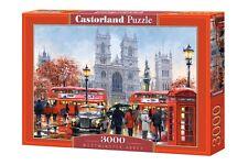 Castorland C-300440 Puzzle Westminster Abbey London Stadt City 3000 Teile