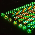20Pcs Origami Luminous Lucky Wish Star Paper Strips Glows in the dark Craft Gift