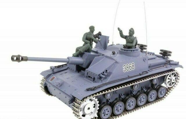 Panzer Sturmgeschütz III Ausf.g.sd.kfz 142-1 Rtr Profesional 2.4GHZ