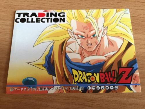 Carte Dragon Ball Z DBZ Trading Collection Memorial Photo #Check List 2 1995