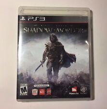 Middle-earth: Shadow of Mordor (Sony PlayStation 3, 2014)