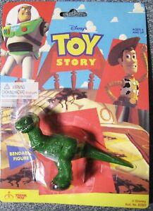 Disney Pixar - Figure Bendy Toy Story Rex Bnip Très Rare