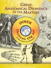 Great Anatomical Drawings by the Masters by Dover Publications Inc. (Mixed media product, 2008)