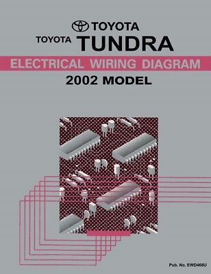 2002 Toyota Tundra Wiring Diagrams Schematics Layout Factory OEM | eBay | Tundra Wire Diagram |  | eBay