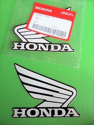 GENUINE Honda Tank Sticker Logo CBR 125 250 400 600 900 1000 Fireblade 100x85mm