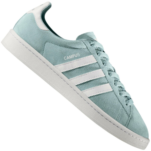 online store 6d5aa c4773 adidas Originals Campus Tactile Green Crystal White Suede Me