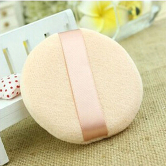 1Pcs Small Face Body Powder Puff Cosmetic Makeup Soft Sponge Cotton Beauty _CA
