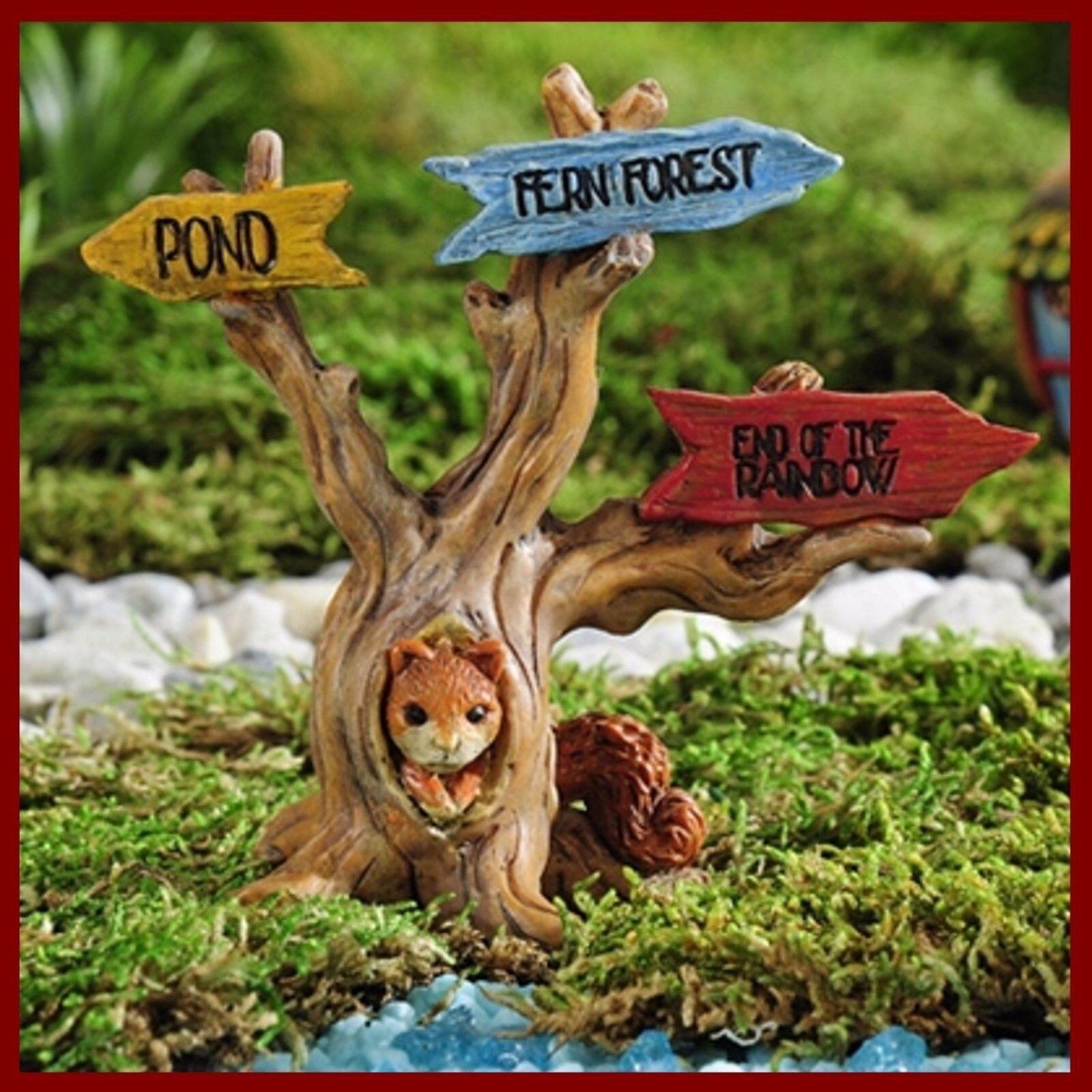 Miniature Dollhouse Fairy Garden Enchanted Forest Elves Set Buy 3 Save $5