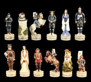 Figurines D'échecs - Set Samouraï Guerrier Echecs Veronese