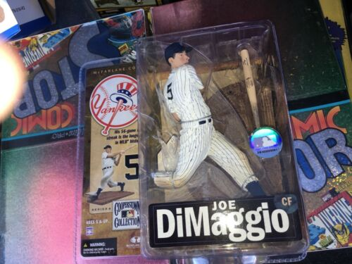 Joe DiMaggio Yankees de New York 2007 McFarlane Toys Baseball Figure Comme neuf en Paquet B