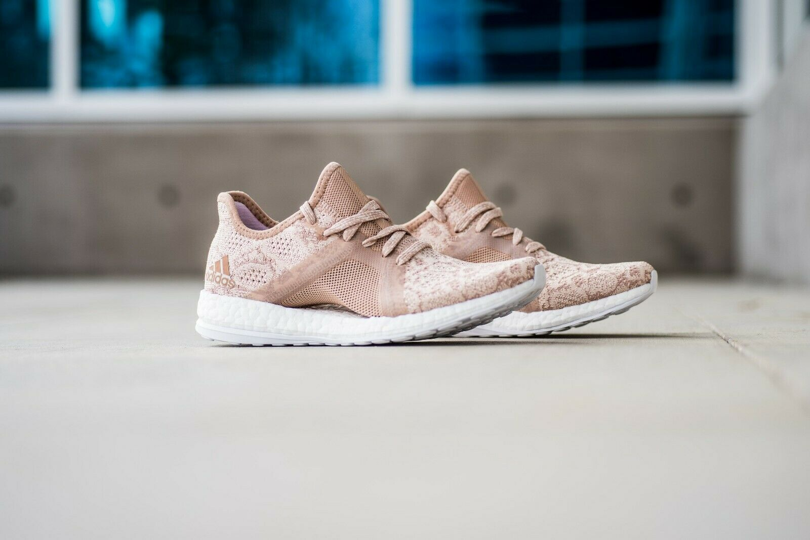 Adidas PUREBOOST X ELEMENT Women's Running shoes Ash Pearl BB6088 AUTHENTIC