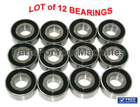 12 ct. Spindle Bearing Scag 48101-01, 48101-02 OEM Replacement 4810101, 4810102