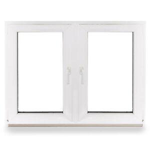 kunststofffenster wohnraumfenster fenster 2 fl gler 2 fl gelig mit pfosten top ebay. Black Bedroom Furniture Sets. Home Design Ideas