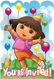 Image Is Loading Lets Party By Amscan Dora And Friends Birthday