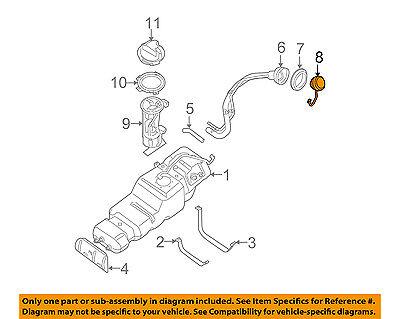 Genuine Nissan Fuel Gas Filler Cap 17251-AR201