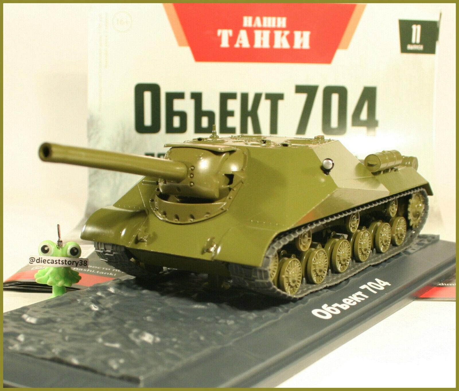 1 43 chars truie objet - 704 Russian Modimo Réservoir № 11 USSR URSS URSS ISU 152