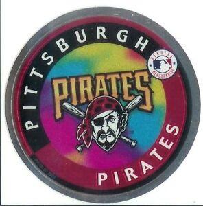 Pittsburgh Pirates MLB Baseball Sticker Chromium Rare