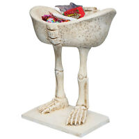 Skeleton Legs Candy Dish Decorative Halloween Bowl Creepy Spooky Fun Decoration on sale