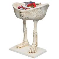Skeleton Legs Candy Dish Decorative Halloween Bowl Creepy Spooky Fun Decoration on sale