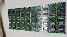 Kingston KTF0596-INB6 128MB Memory RAM PC2700 Lot of 10