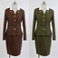 The First Avengers Captain America Agent Peggy Carter Cosplay Costume 2 Colors