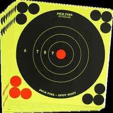 "NEW JACK PYKE SPOT SHOT TARGETS 10 x 6"" INSTANT FEEDBACK SELF ADHESIVE SHEETS"