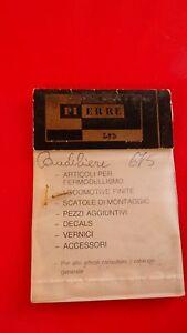 Pierre Supermodellismo Art. 283 Chandelier 675 Locomotives Échelle 1:80