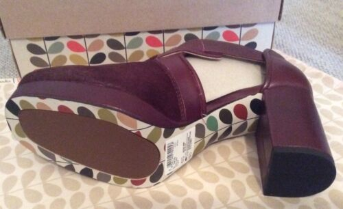 Kiely 3 Dilly Ox 5 Eur Sanguine 35 Taille Orla Clarks Chaussures 0t5Iv