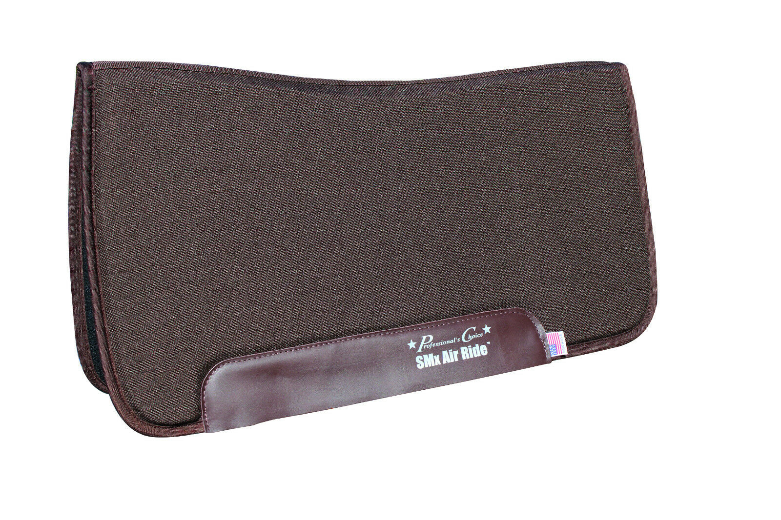 Professionals Choice SMx Air Ride Brown All Around Saddle Pad 30  x 32  Felt