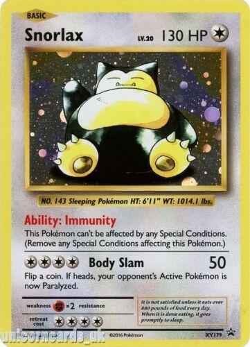 Snorlax XY179 Promo Holo Mint Pokemon Card
